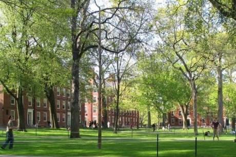 Ranking  mede a qualidade da educação e formação dos alunos, a universidade de Harvard (na foto) lidera lista de 2014
