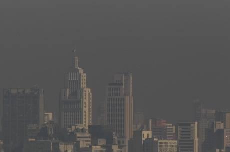 A poluição do ar em São Paulo