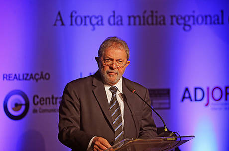 Ex-presidente Lula recebeu doações de empresas investigadas na operação Lava Jato, da Polícia Federal
