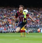 <b>Lionel Messi <br></b>608 jogos<br>490 gols