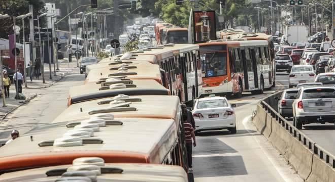 Haverá uma redução de 936 ônibus das frotas do sistema de transportes