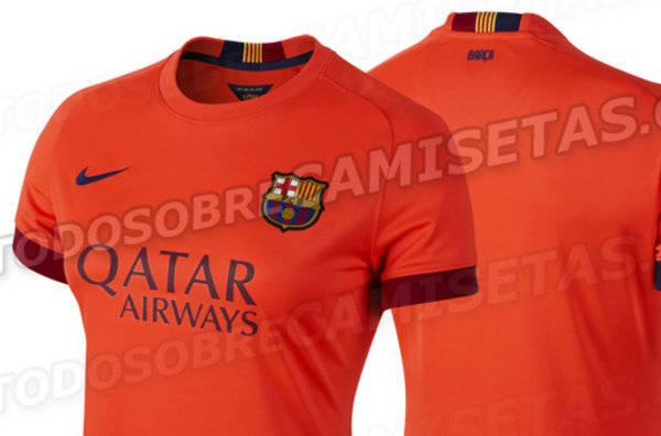 1dbee016c1791 Vazou o segundo uniforme do Barcelona para a próxima temporada do futebol  europeu ...