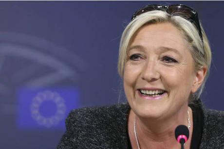 Marine Le Pen é declaradamente contra a imigração e a União Europeia