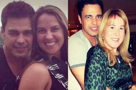 Fãs comparam Zilu com nova namorada de Zezé Di Camargo