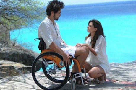 Bruno contou com a ajuda de uma fisioterapeuta especializada