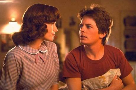 Lea Thompson e Michael J. Fox