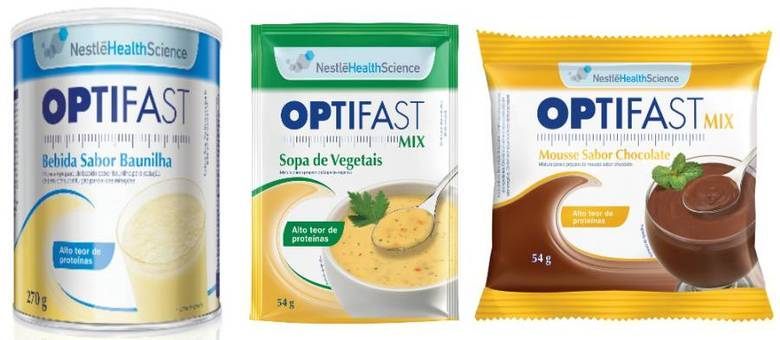 Nova linha de alimentos Optifast é um programa de reeducação alimentar e gerenciamento de peso
