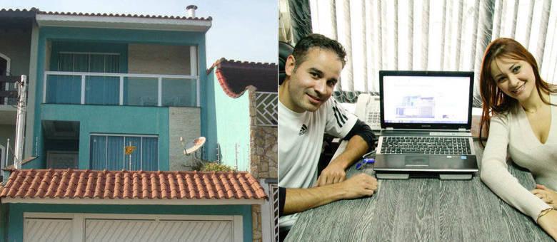 Francini e Sidnei anunciaram em sites internacionais a locação da própria casa em Itaquera para a Copa do Mundo