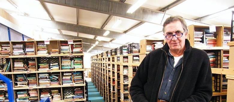 O Bookbarn International é um dos maiores sebos da Inglaterra