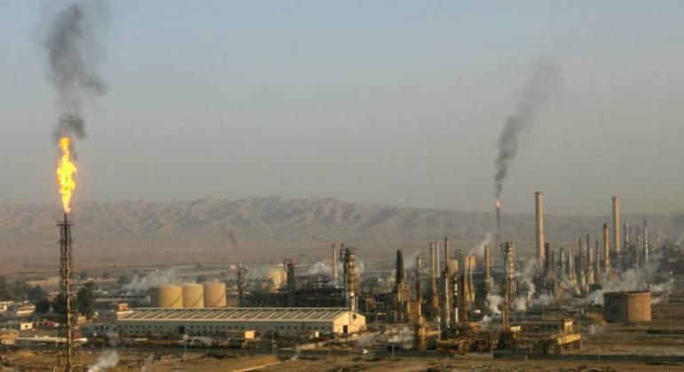 Refinaria iraquiana