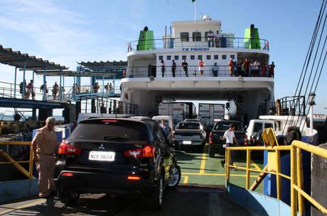 As tarifas para o ferry variam entre R$ 5 e R$ 374