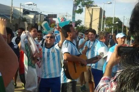 [COPA 2014] Invasão: BH espera 30 mil argentinos nas ruas neste sábado