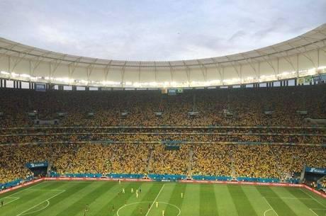 Estádio Mané Garrincha esteve sempre perto de sua capacidade máxima em todos os sete jogos