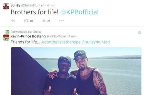 """Muntari e Boateng """"causaram"""" na concentração de Gana"""