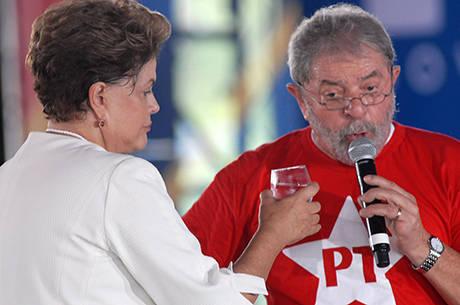 Presidente participou de evento ao lado do ex-presidente Luiz Inácio Lula da Silva