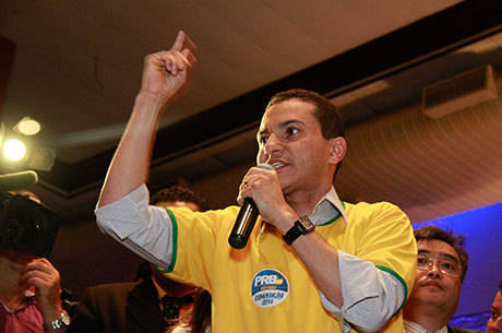 Após anunciar apoio a Alckmin em São Paulo, Marcos Pereira diz que PRB terá cerca de cem candidatos à Câmara dos deputados