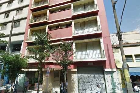 Edifício da rua dos Andradas, onde o crime aconteceu