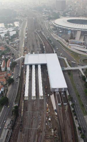 Nova estação Maracanã tem cinco plataformas intermodais