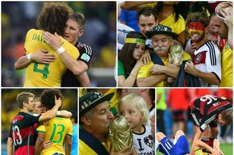 """""""Sabemos como é doloroso perder uma semi-final no próprio país"""", afirmou a DFB Team"""
