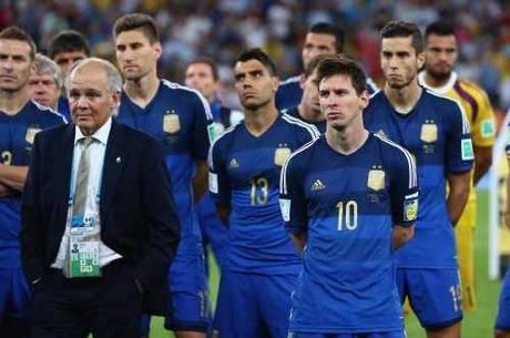 Sabella e Messi levaram a Argentina ao 2º lugar na Copa de 2014