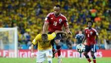Neymar lembra joelhada: '2 cm ao lado e eu não poderia mais andar'