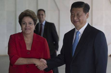 Dilma e Xi Jinping se reuniram nesta quinta-feira em Brasília