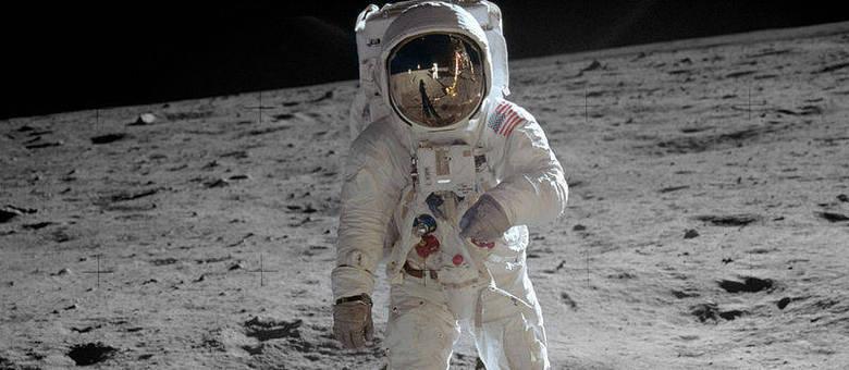 Buzz Aldrin em solo lunar: conquista marcou a tecnologia espacial e a ciência para sempre