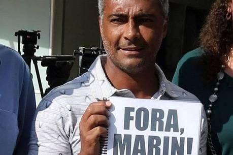 Romário sempre pediu a saída de Marin do comando da CBF