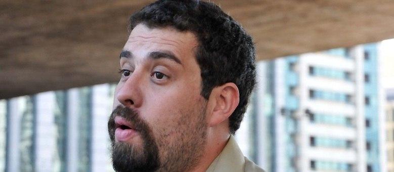 O líder dos sem-teto, Guilherme Boulos