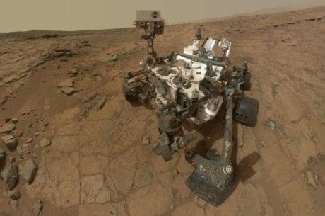 O robô detectou a presença constante de níveis bastante baixos do gás