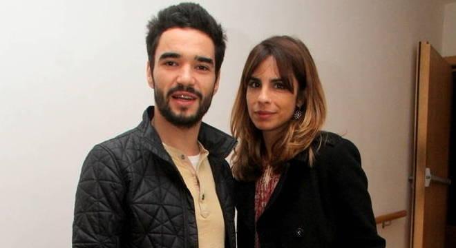 Caio Blatt e Maria Ribeiro foram casados por