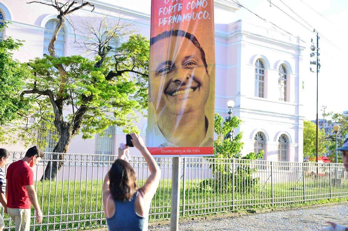 Pesquisa aponta que quase 80% dos eleitores acreditam que morte de Campos influenciará voto