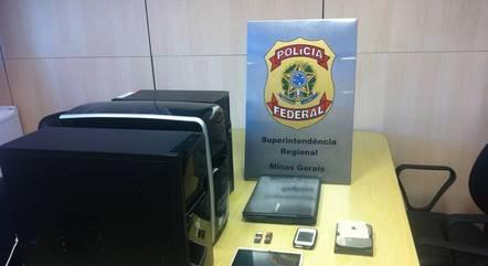 Policiais acharam o suspeito pelo IP