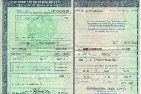 Condutor pode apresentar documento físico ou digital