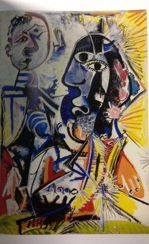 Obras de Picasso estão na exposição