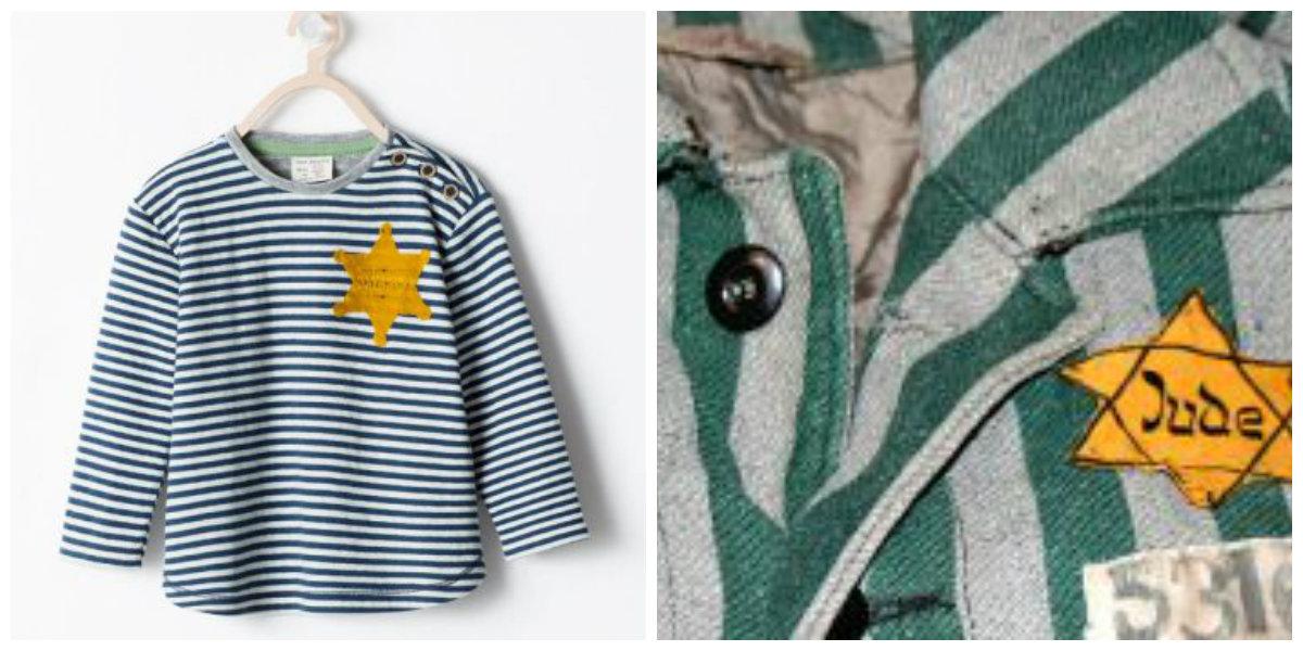 Camiseta da Zara causa polêmica por sua semelhança com pijama do holocausto  - Notícias - R7 Internacional 89664c9e481
