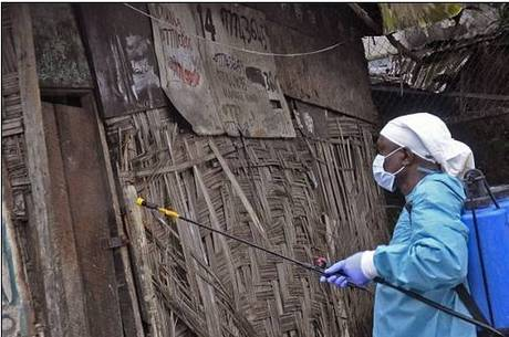 Epidemia de ebola na África Ocidental que já causou mais de 1.500 mortos