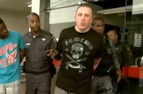 Suspeito debochou ao ser preso em São Gonçalo