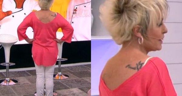 Atriz Deixa Escapar Tatuagem Veja Outros Famosos Que Têm
