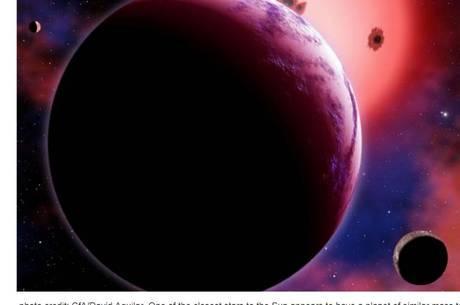 Exoplaneta fica a cerca de 12 anos-luz de distância da Terra