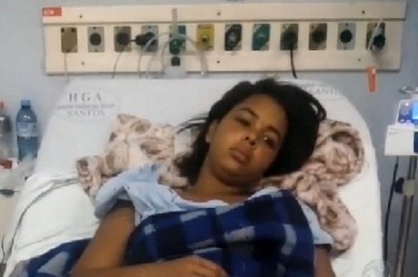 Natália, de 13 anos, segue internada em hospital de Santos