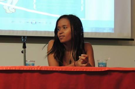 Tamires é quinta mulher a presidir o diretório estudantil e a primeira pessoa negra  a alcançar o posto