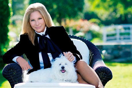 A atriz e cantora Barbra Streisand