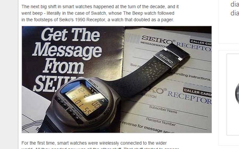 Veja a evolução dos relógios inteligentes - Fotos - R7