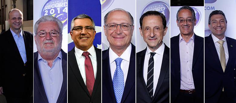 Os candidatos já estão a postos para participarem do debate promovido pela Rede Record nesta sexta-feira (26)