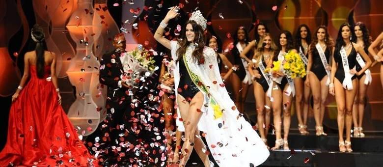 Melissa Gurgel é a terceira representante do Ceará a ganhar o título de mulher mais bonita do Brasil