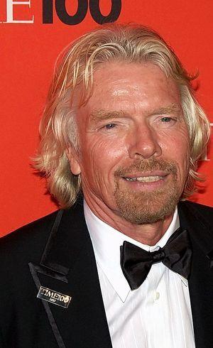 Richard Branson é presidente e fundador do Virgin Group