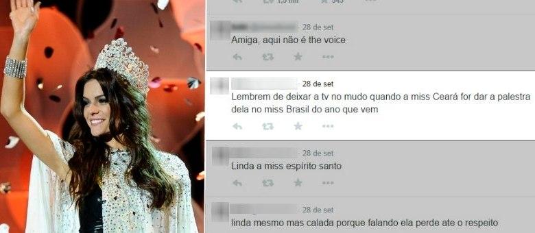 Melissa Gurgel, representante do Ceará, foi coroada Miss Brasil; Ofensas começaram logo após anúncio da vitória