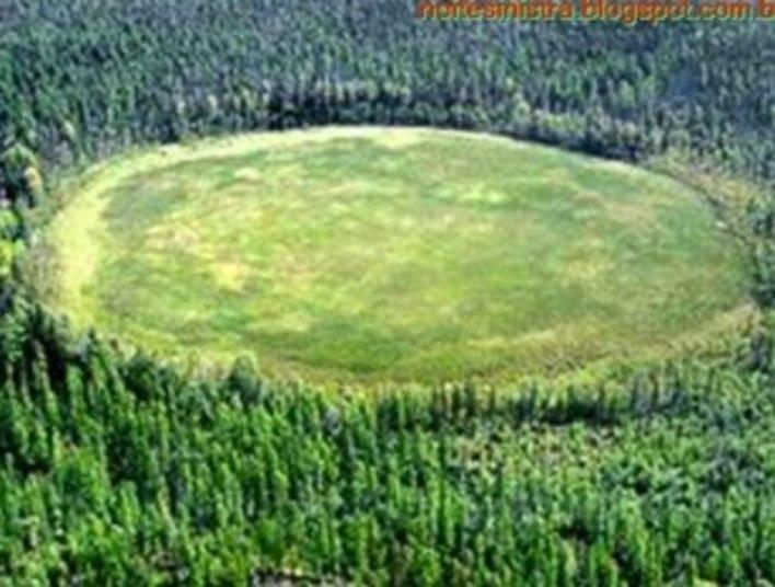O solo dessa área teria sido investigado e não se chegou a nenhuma conclusão