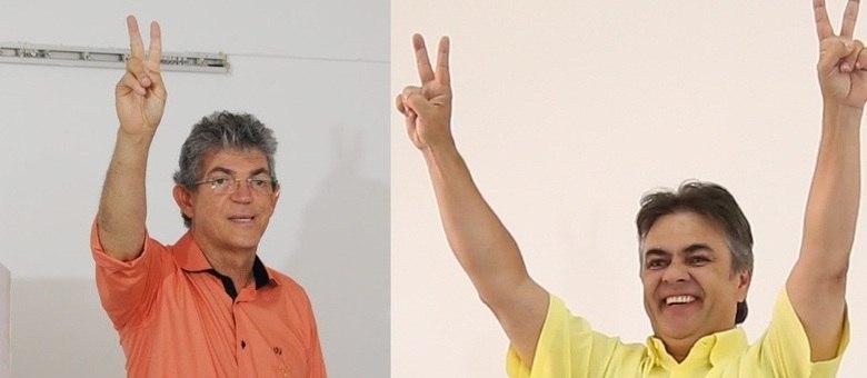 Coutinho (PSB) e Cunha Lima (PSDB) seguem na disputa